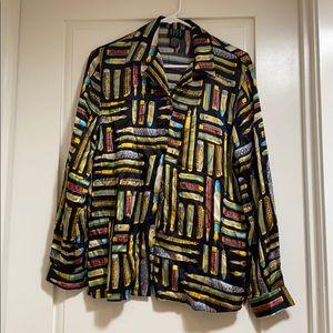 Vintage silk blouse 👚 (S)